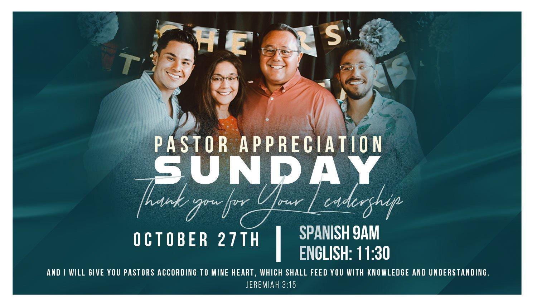 Pastor-appretiation