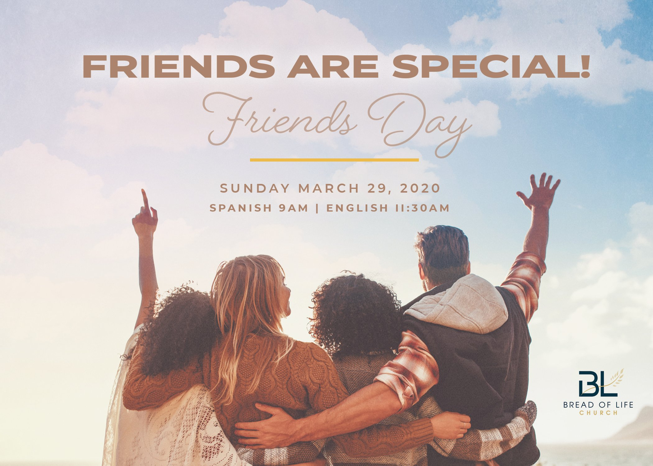 Friends Day Postcard